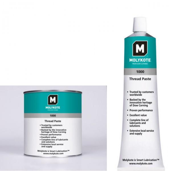 Molykote 1000, 1kg, Hochtemperatur-Festschmierstoffpaste, VE=10