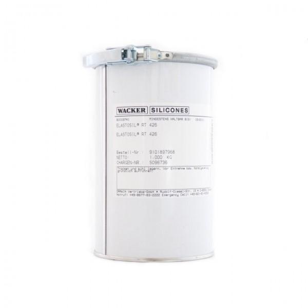 Elastosil® RT 426, 25kg Hobbock, rotbraun