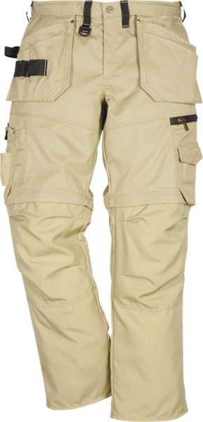 100545-210 FK PROSTRETCH ZIP-OFF-FUNKTIONSBUNDHOSE, KHAKI, GR.46