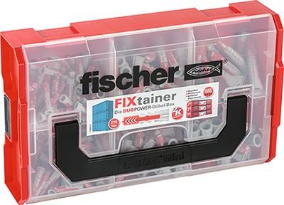Fischer FIXtainer - DUOPOWER Dübel (Set mit 210 Teilen), 535968