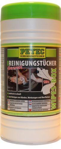 PETEC REINIGUNGSTÜCHER UNIVERSAL SPENDEREIMER 120 BLATT 82120
