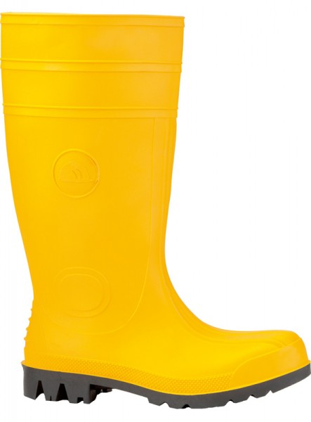 PVC-Sicherheitsstiefel EUROMASTER S5 SRA #35362, gelb, Gr.41