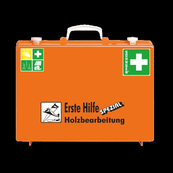 ERSTE-HILFE-KOFFER SPEZIAL 13157 ABS orange, HOLZBEARBEITUNG