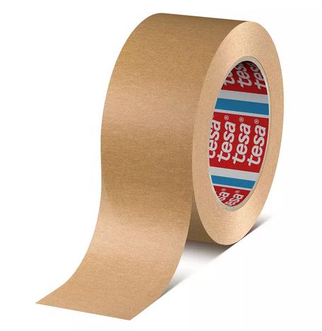 Tesapack 4713-15, braun, 50 mm x 50 m (Papierklebeband, nachhaltig)