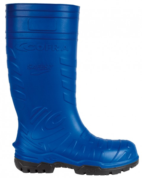 GUMMISTIEFEL PU S5 SAFEST BLUE 47 SUPERLEICHT METALLFREI ISOLIEREND