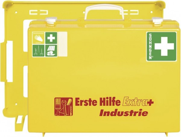 ERSTE-HILFE-KOFFER EXTRA 13157 ABS orange, + INDUSTRIE
