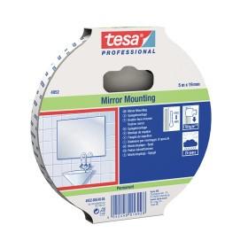 Tesafix 4952-08, 15 mm : 50 m, weiss, Montageklebeband (VE=20)