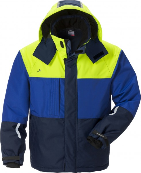 Fristads GenY Winterjacke 4916 GTT, marine/blau/gelb, M