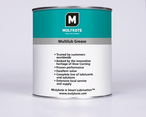 Molykote Multilub, 1kg, Mehrzweckfett, VE=10