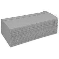 Papierhandtuch natur 1lag. Z-Falz VE = 20x250 Tücher ca. 25