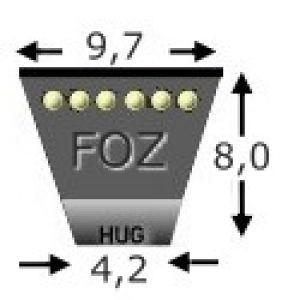 Keilriemen XPZ X 825 LW AVX10-838 LA, CONTI