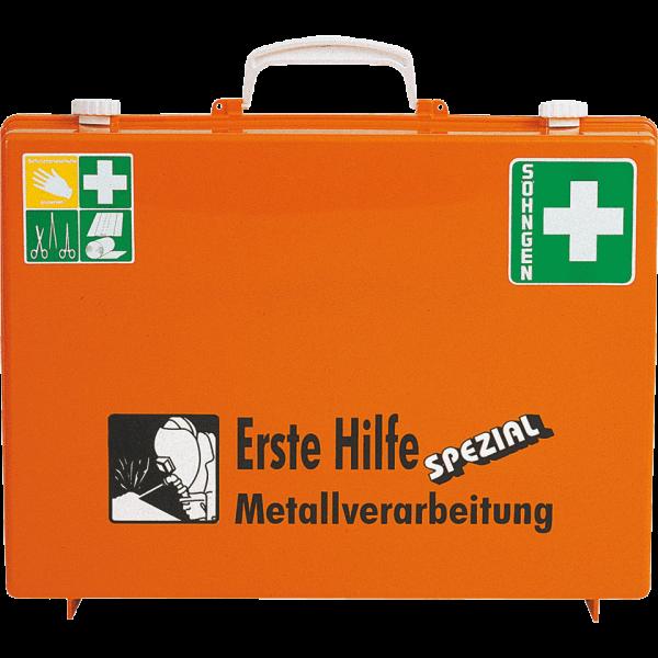 ERSTE-HILFE-KOFFER SPEZIAL 13157 ABS orange, METALLVERARBEITUNG